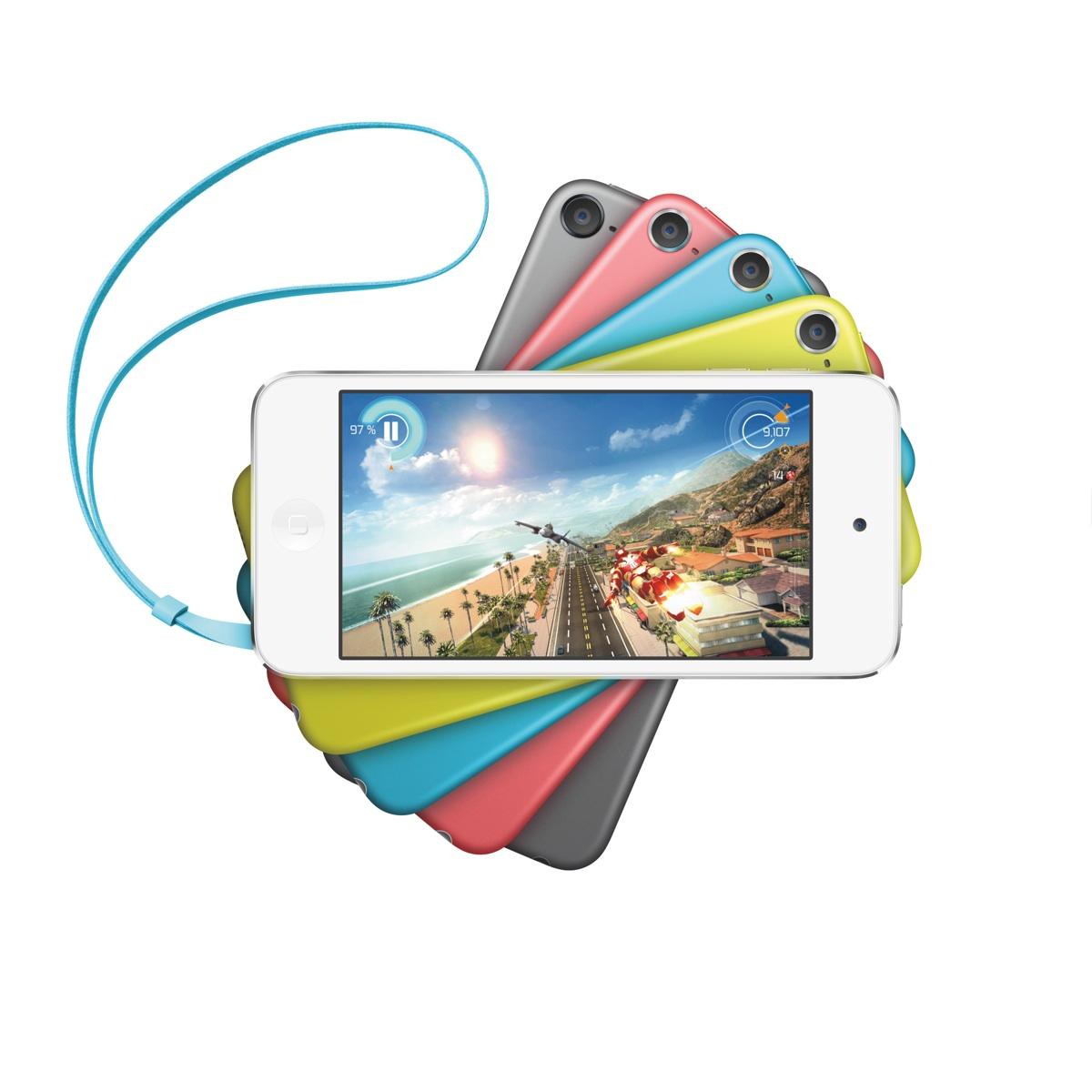 iPod touch 16GB wird günstiger, farbiger und bekommt eine bessere Kamera.