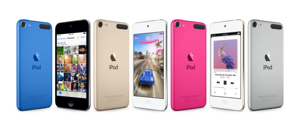 Die iPod touch Familie im Jahr 2017
