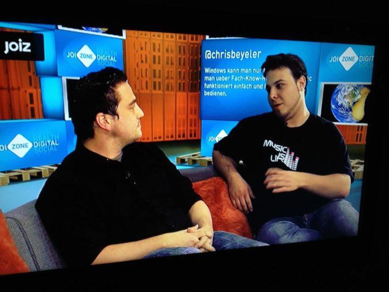 Renato und Sascha bei Joiz.tv