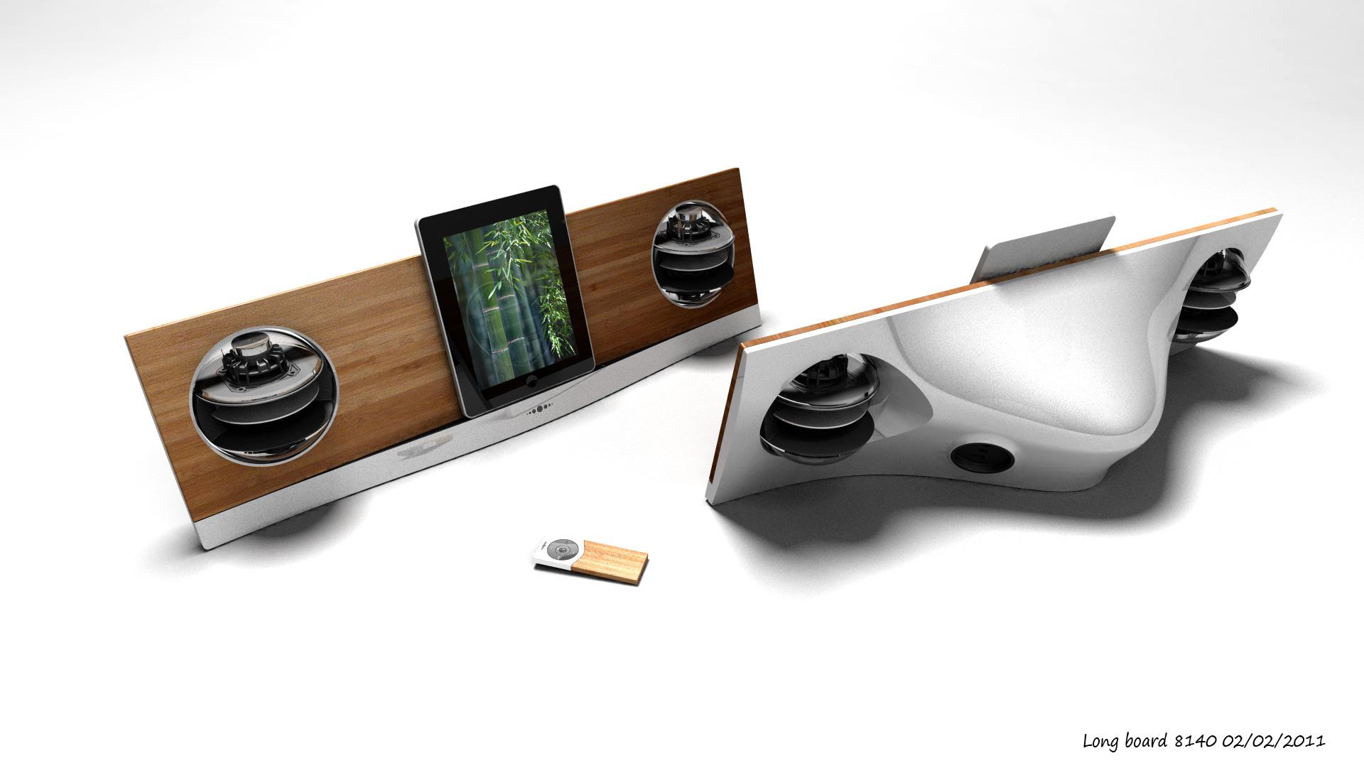 Beeindruckendes iPad-Dock von Jean Michel Jarre