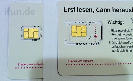 Nano SIM-Karte