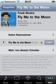 Klingelton auf iTunes