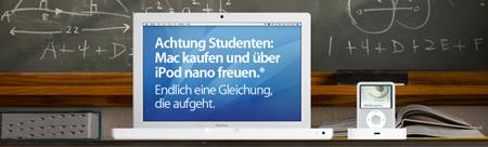 Gratis iPod nano zu jedem Mac!