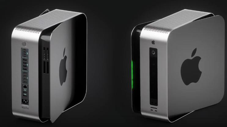 Mac Pro offen