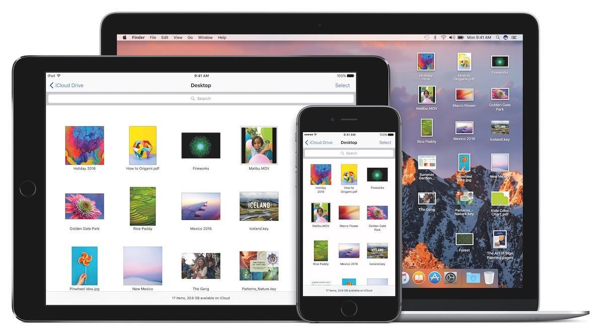 macOS Sierra mit ein paar Neuigkeiten.