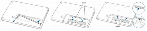MacBook: Installation von Speicher
