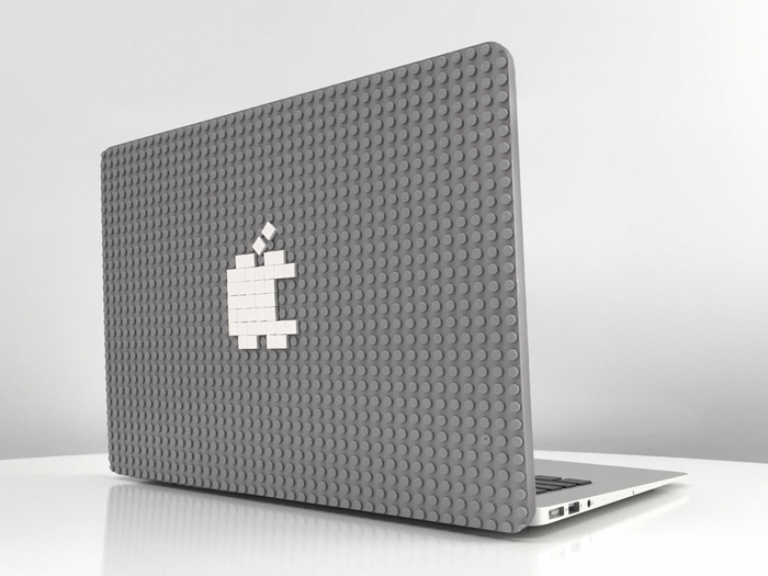 Ein kreatives MacBook-Case aus LEGO.