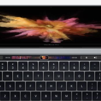 MacBook Pro 2017 mit Touch Bar und Touch ID