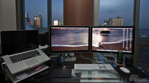 2 Cinema Displays An Einem Macbook Pro Apfelblog