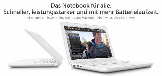MacBook Mai 2010