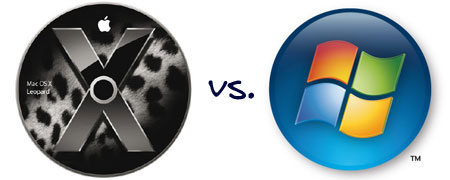 Mac OS X vs. Windows Vista