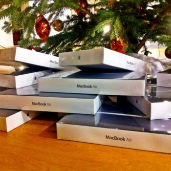 MacBook Air zu Weihnachten