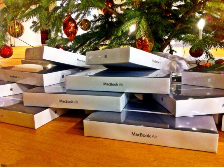 MacBook Air zu Weihnachten