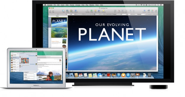 OS X Mavericks mit Multiple Display