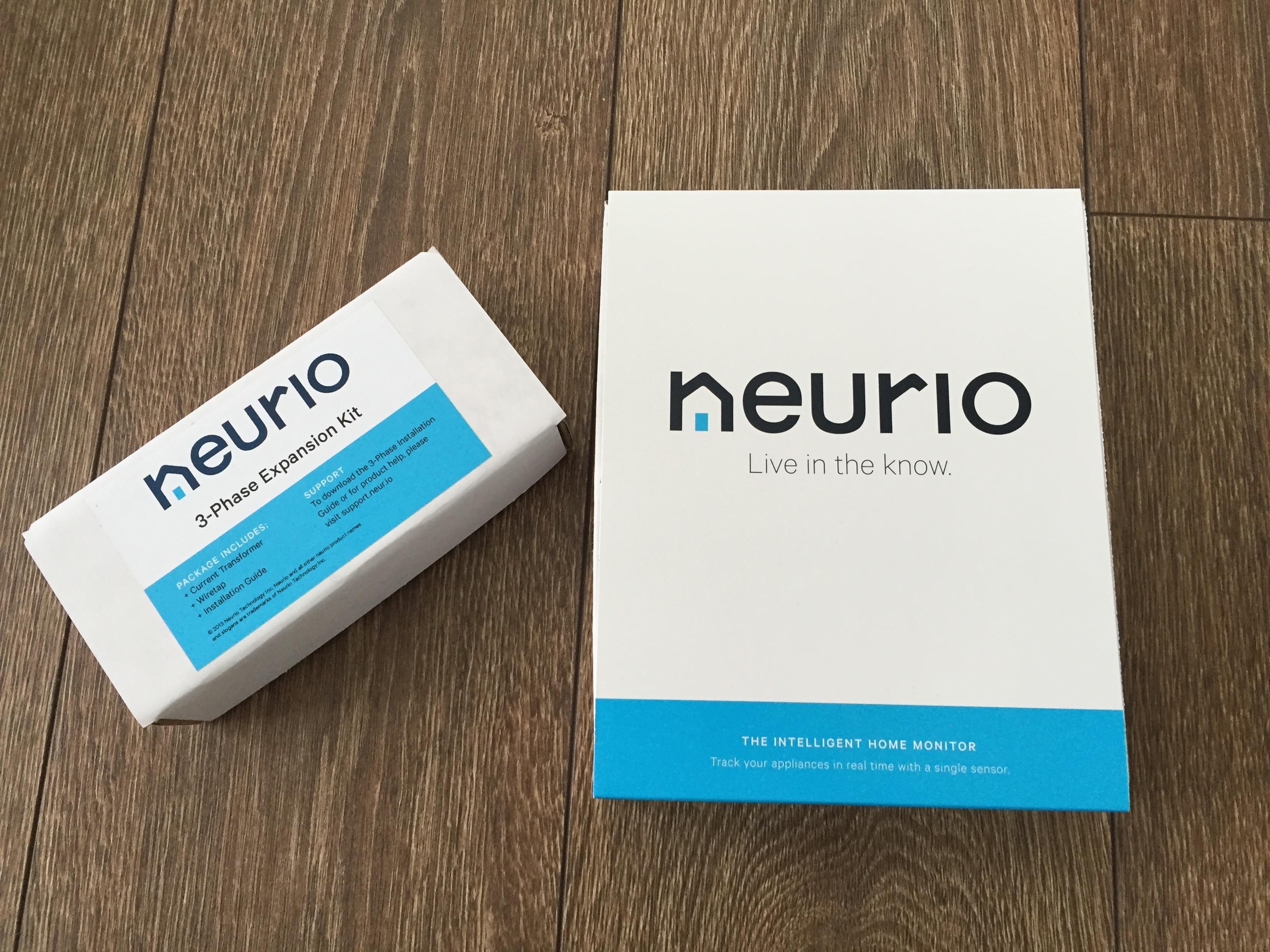 Neurio – Stromverbrauch überwachen und das Haus ein bisschen intelligenter machen.