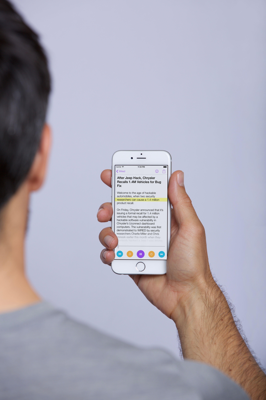 Newsbot – Lass dir deine individuellen News vorlesen.
