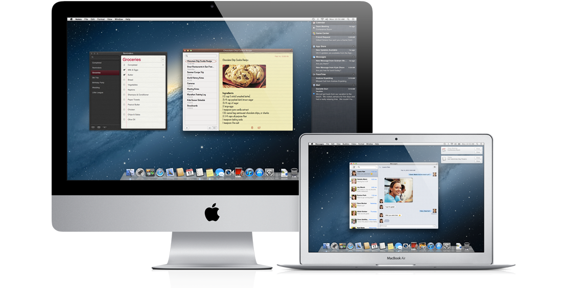 Apple kündigt neues Mac OS X 10.8 Mountain Lion an