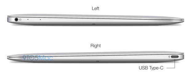 "MacBook Air 12"" Profil"