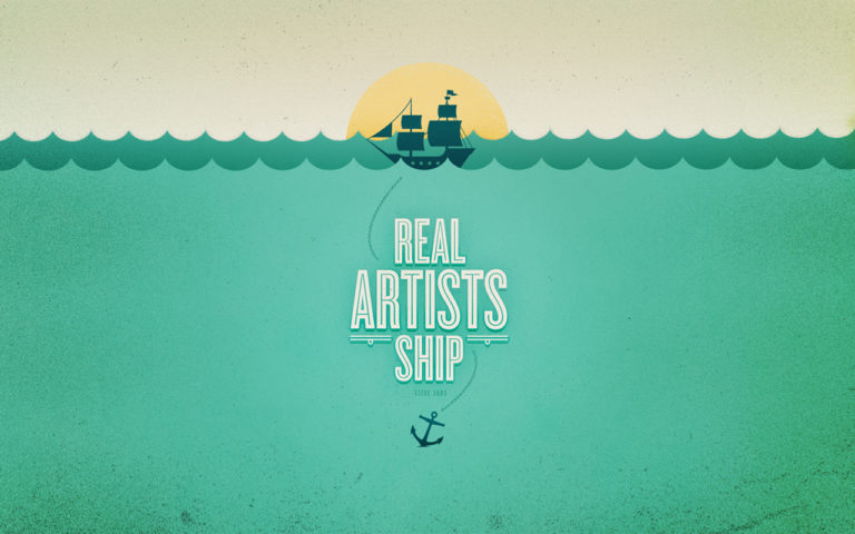 Real Artists Ship by Andrew Power