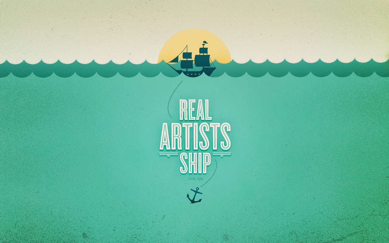 Hey Apple, Real Artists ship!