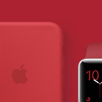 Apple spendet beim Kauf von (RED) Produkten Geld für HIV/AIDS Programme