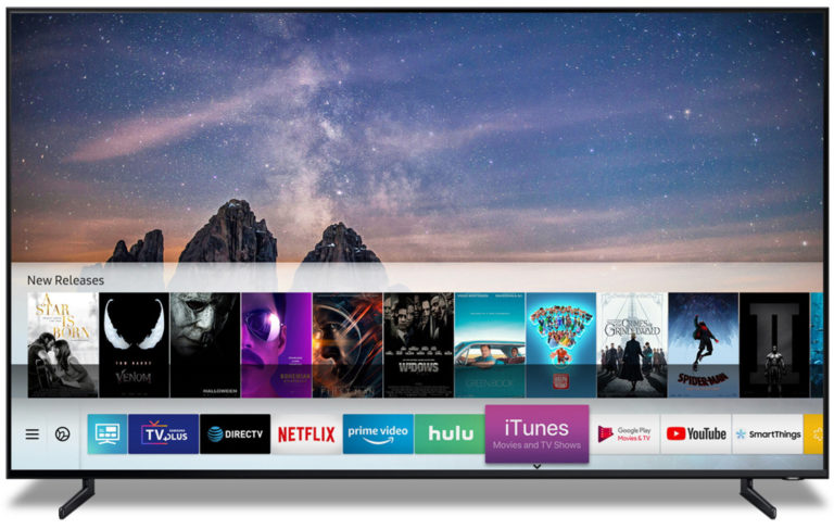 iTunes auf Samsung Smart TV