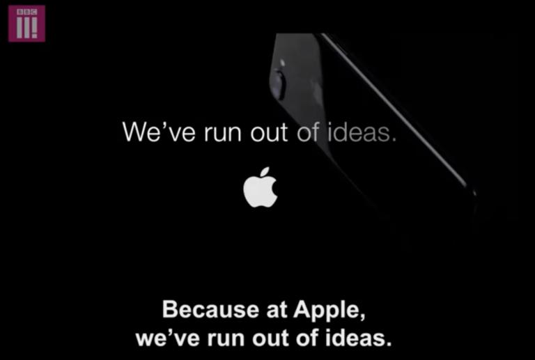 iPhone 7 Satire