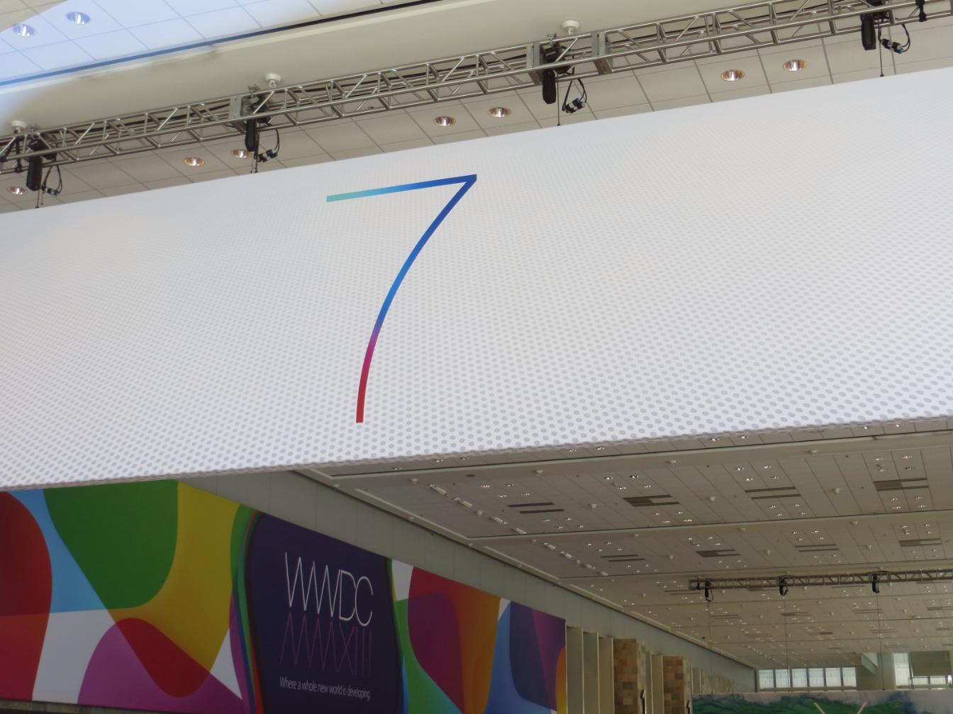 iOS 7 at WWDC