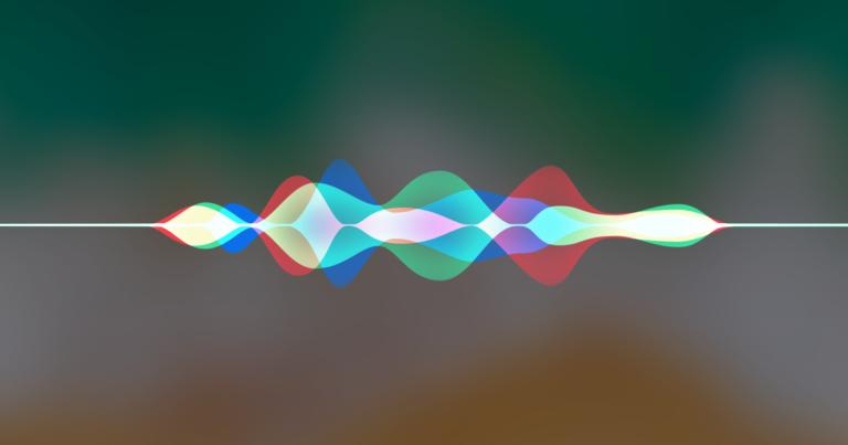 Visualisierung von Siri