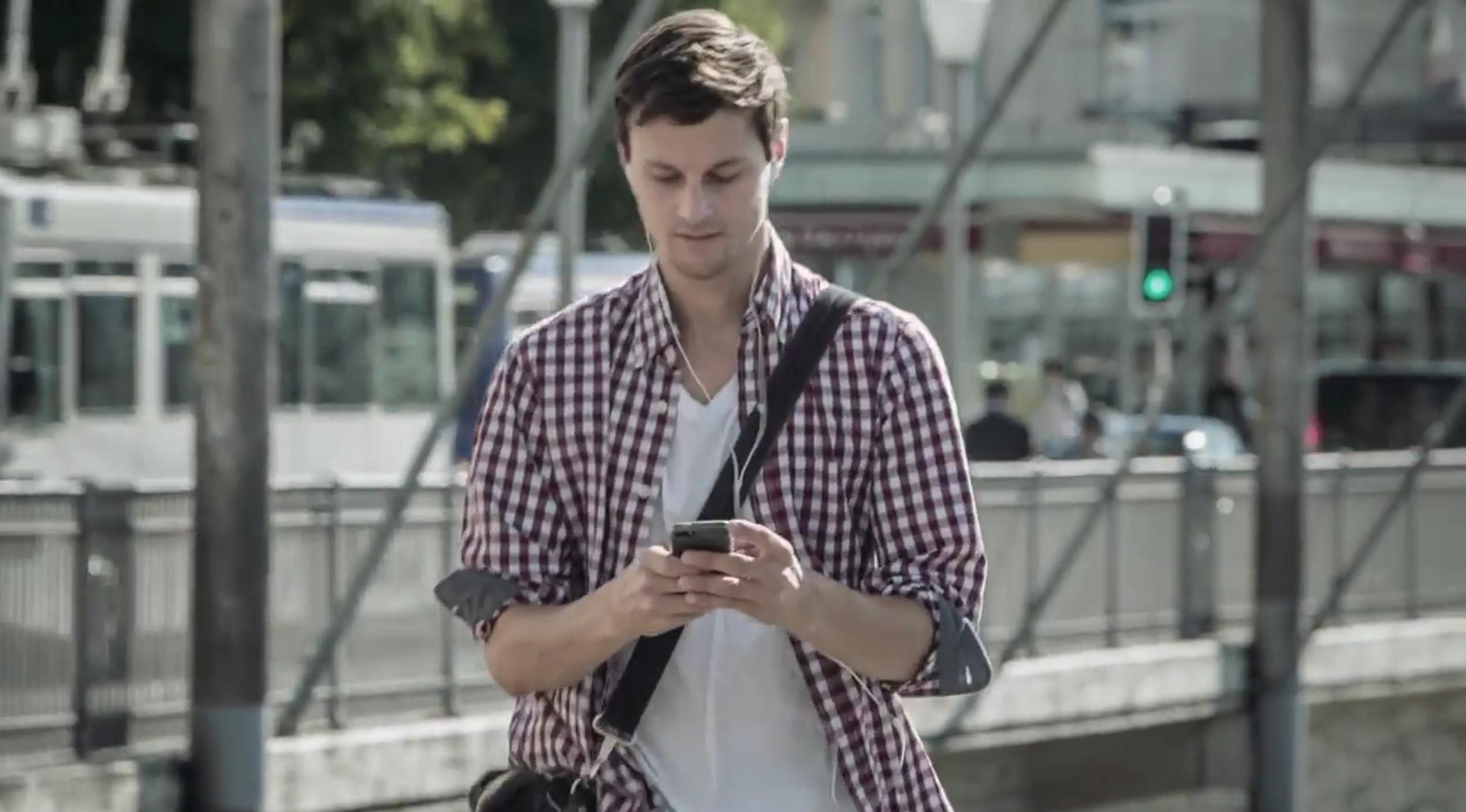 Lass dich nicht vom Smartphone ablenken!