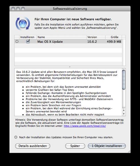 Snow Leopard 10.6.2