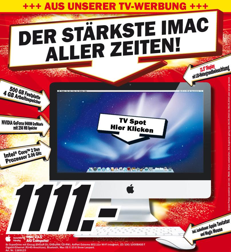 Media Markt: Der stärkste iMac aller Zeiten