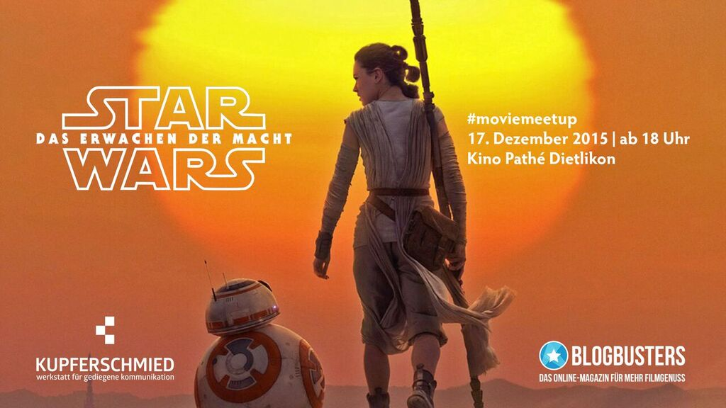 #MovieMeetup: Star Wars – The Force Awakens.