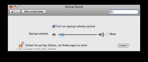 Startup Sound