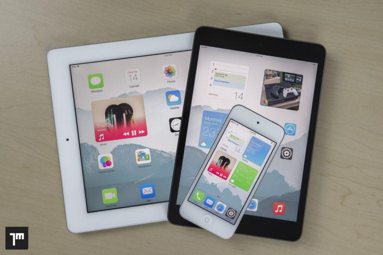 iOS 8 Konzept