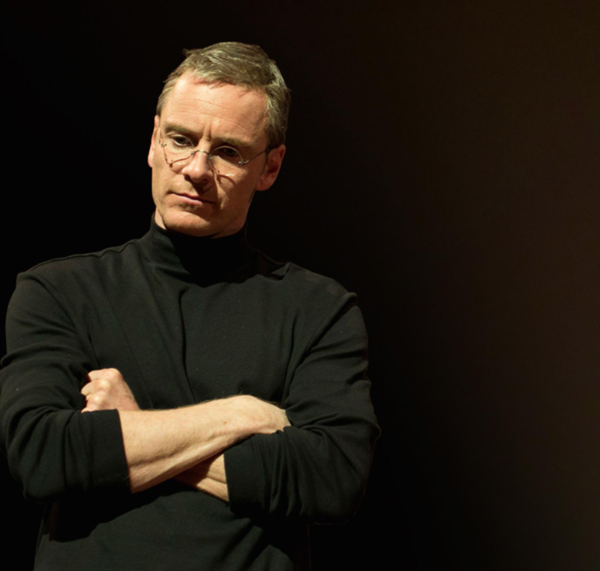 Michael Fassbender als Steve Jobs.