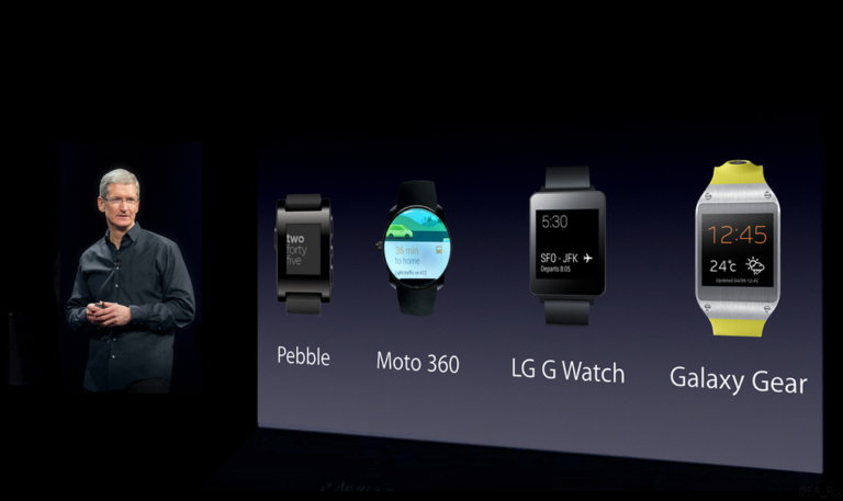 iWatch vs. Smart Watches