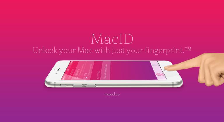 MacID - Mac entsperren mit dem Fingerabdruck