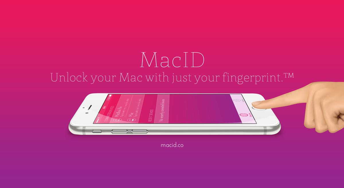 MacID – Mac entsperren mit dem Fingerabdruck.