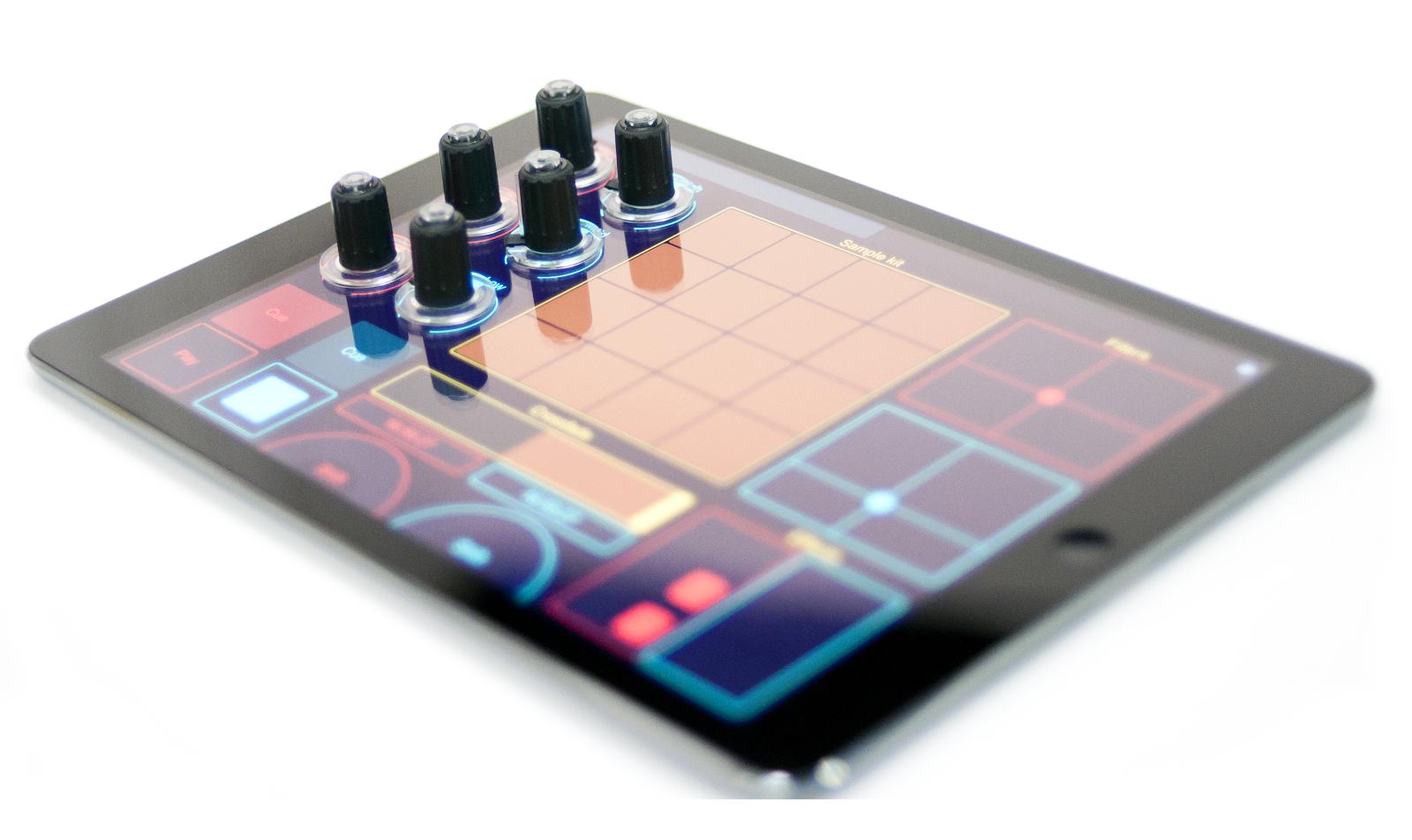 DJs aufgepasst: Tuna Knobs für das iPad.