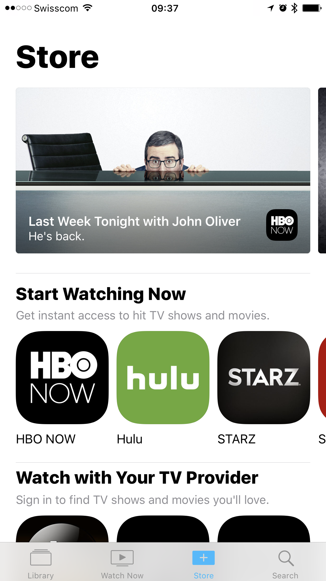 TV App Home