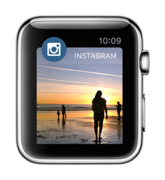 Apple Watch Instagram
