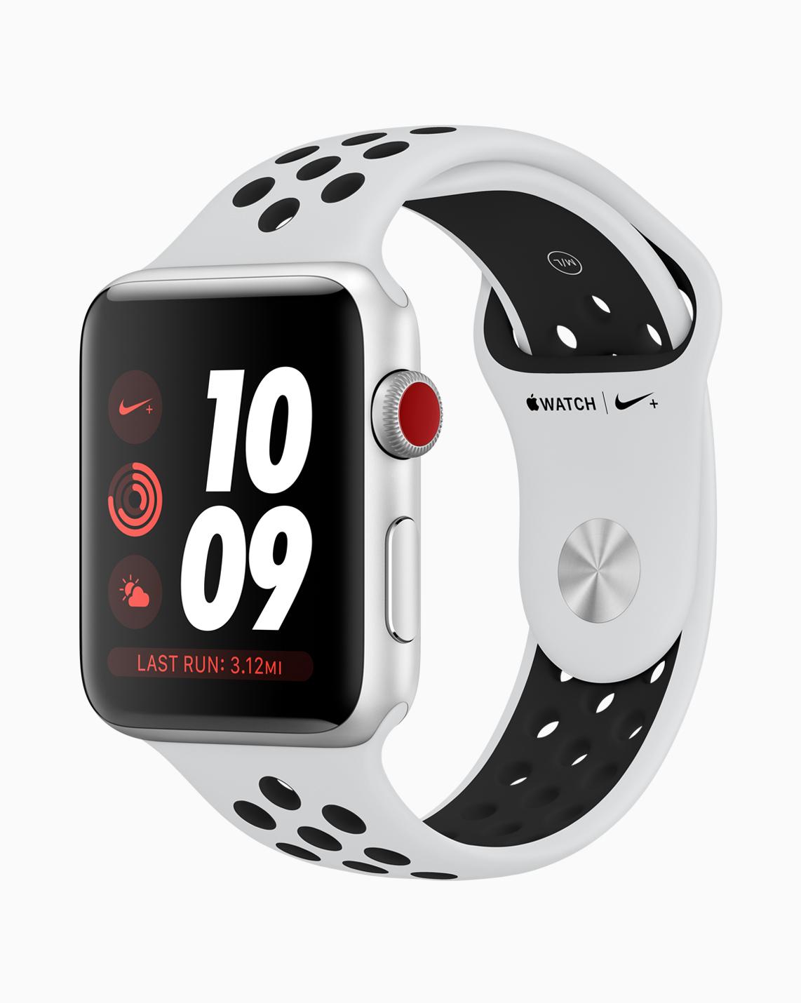 Mobilfunk für Apple Watch Series 3 soll spätestens ab 10. Dezember 2017 verfügbar sein.