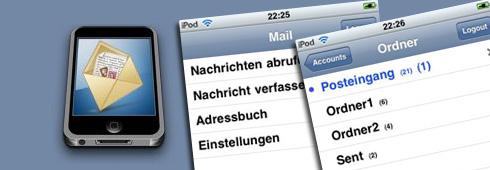 Webmail für den iPod touch