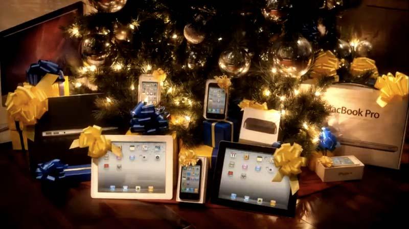 Weihnachten mit Apple