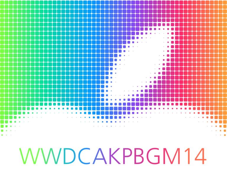 WWDC Apple Keynote Pizza Beamer Geek Meetup